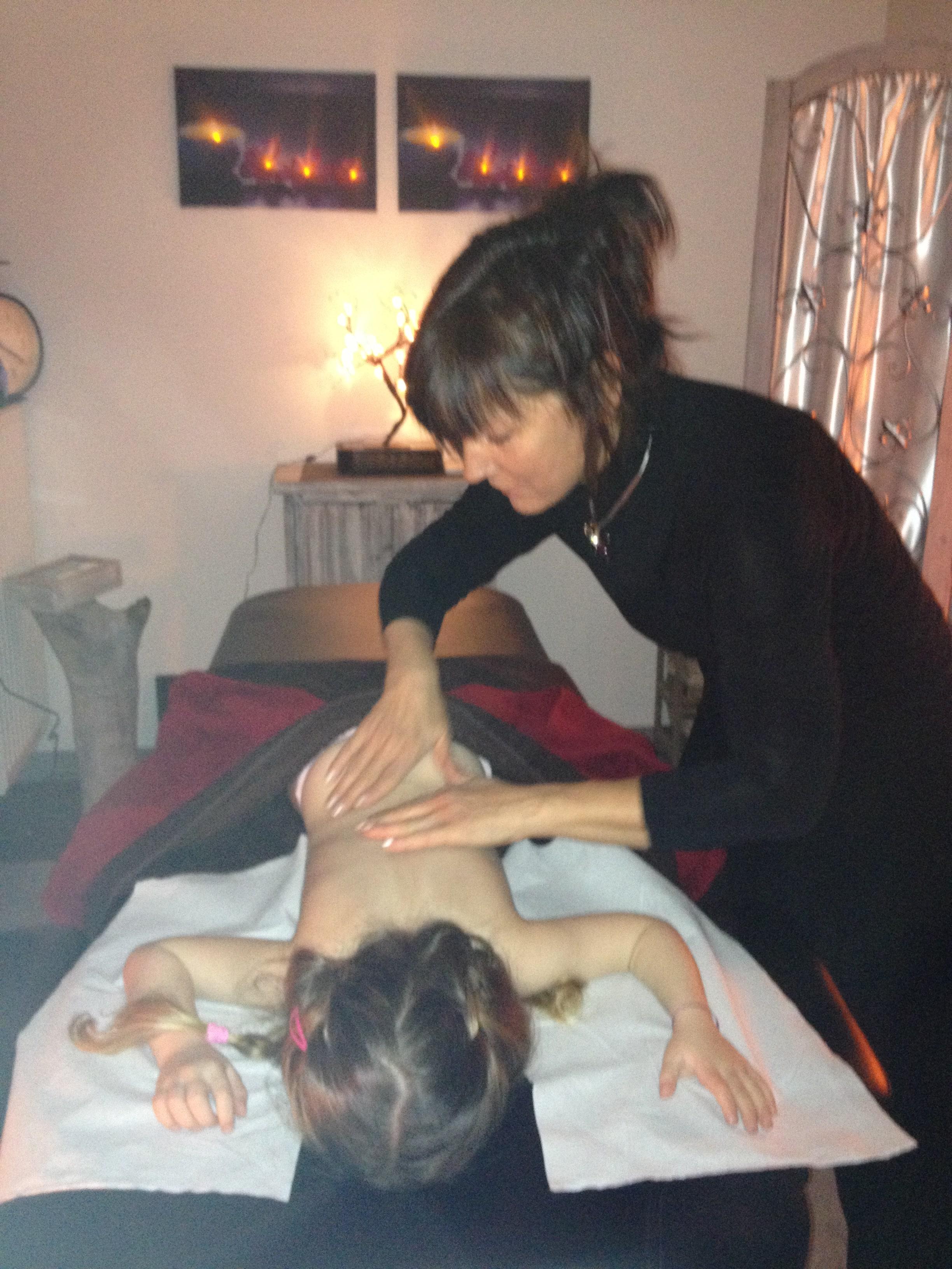 Source de Bien-être Douvaine le massage chez l'enfant