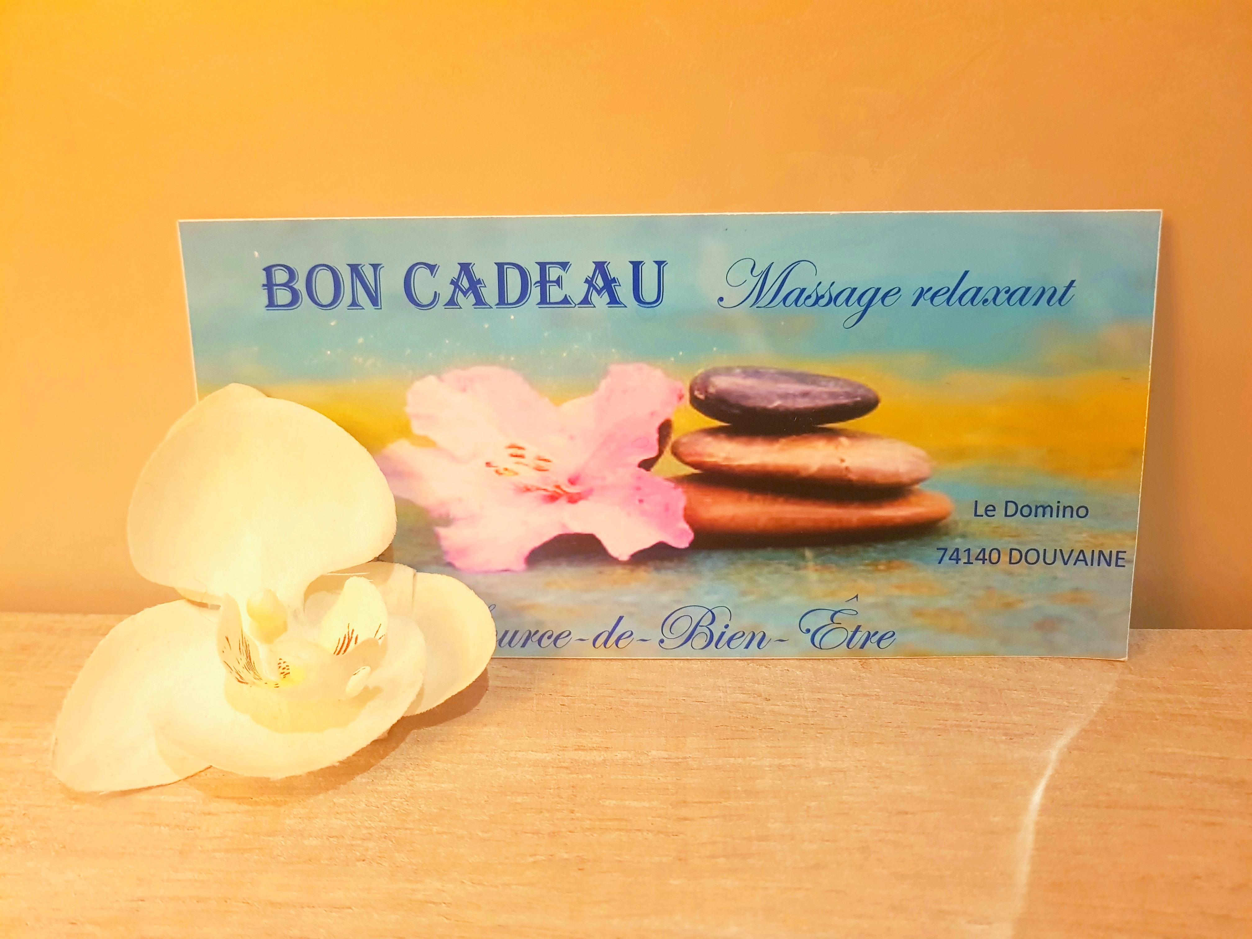 Massage Source de bien être Douvaine